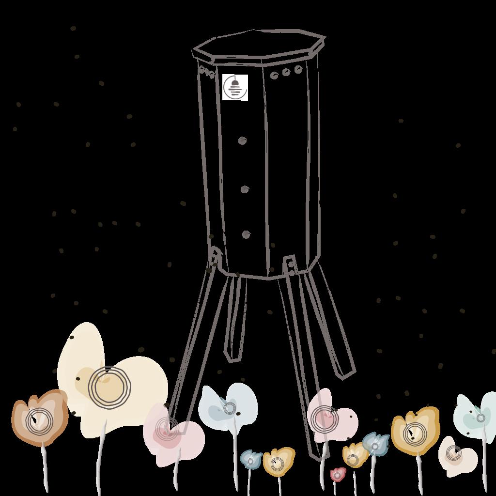 lunaire-dessin-fleur-ruche-refuge